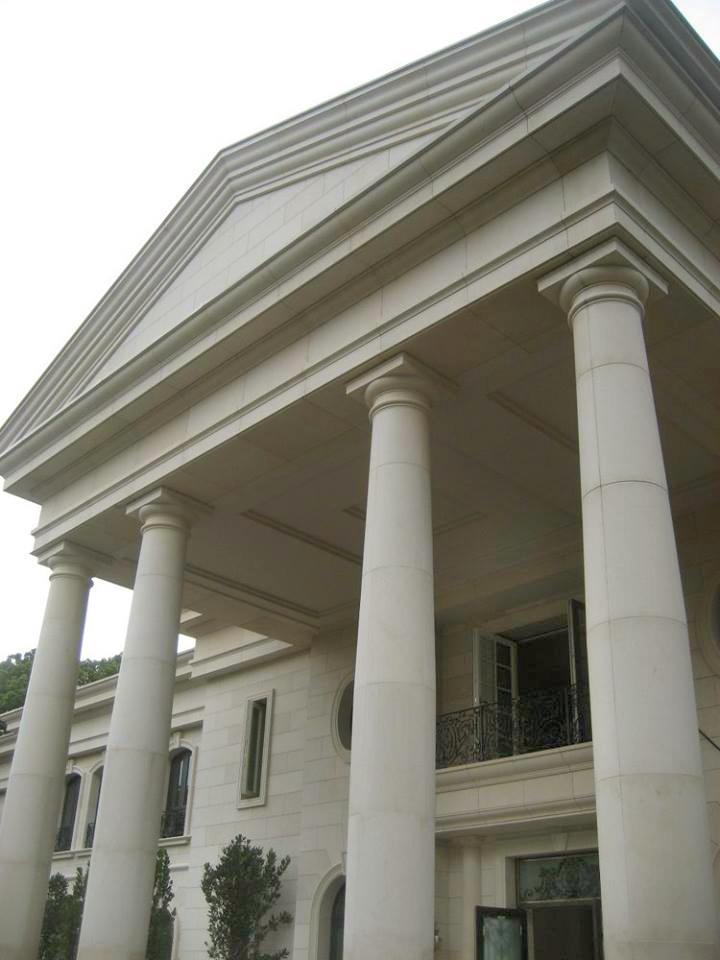 Rivestimento Palazzo Residenziale, rivestimenti esterni in marmo
