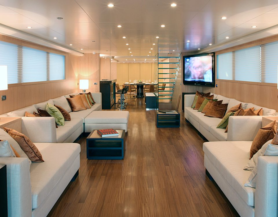 Yacht Project arredamento interno