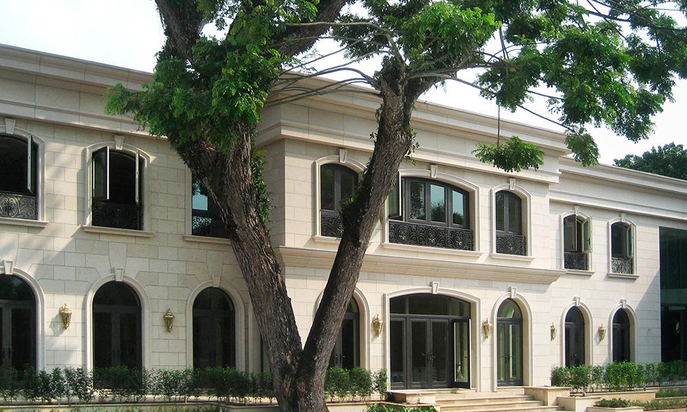 Rivestimento Palazzo 3, rivestimenti esterni in marmo