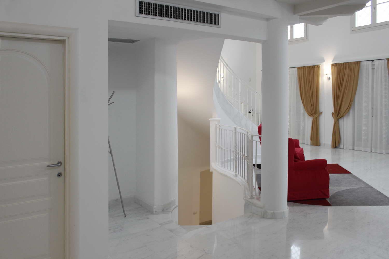 Scala in Marmo Bianco 004