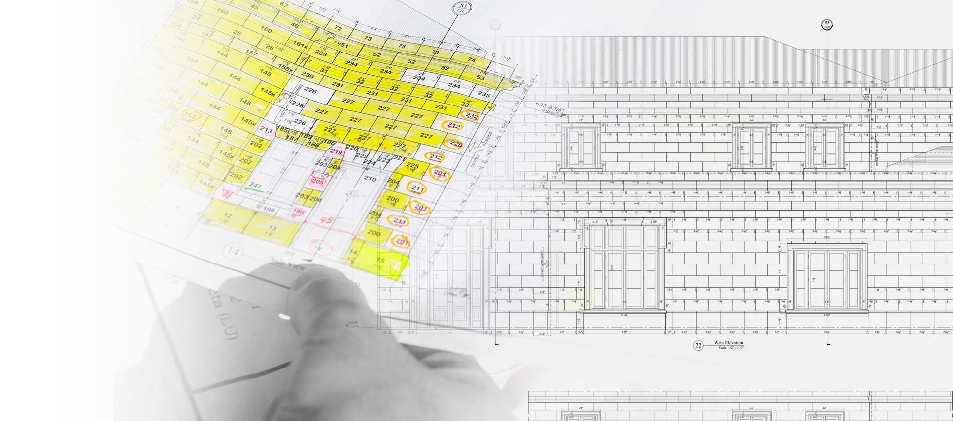 Slide - Casellari per mappatura facciate esterne case, ville, palazzi