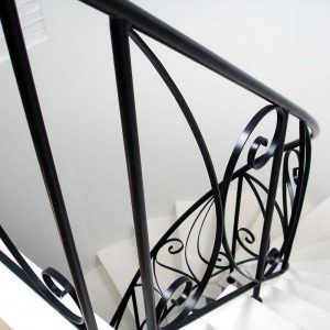 Scala stile Liberty in Limestone francese - 6